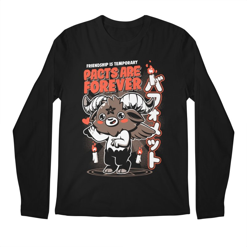Pacts Are Forever - Black Men's Regular Longsleeve T-Shirt by ilustrata