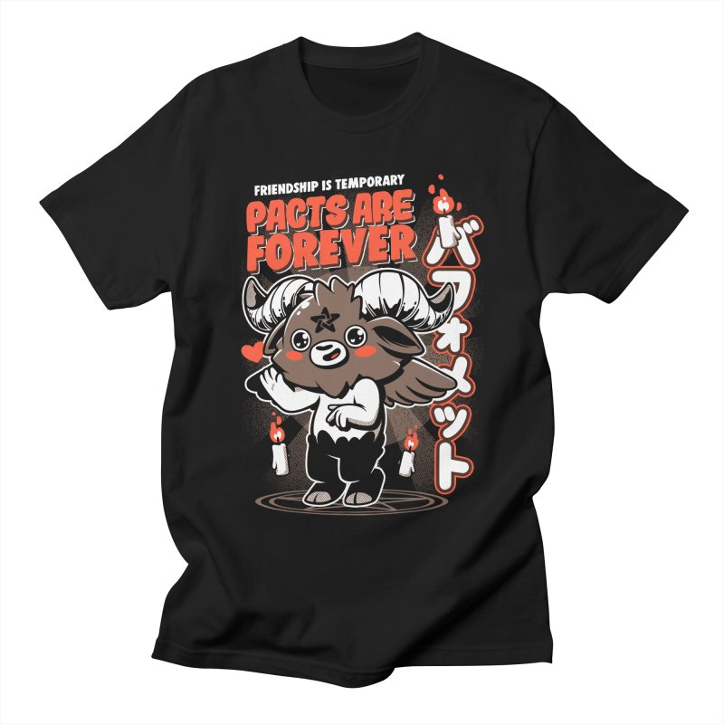 Pacts Are Forever - Black Men's Regular T-Shirt by ilustrata