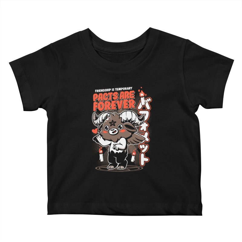 Pacts Are Forever - Black Kids Baby T-Shirt by ilustrata