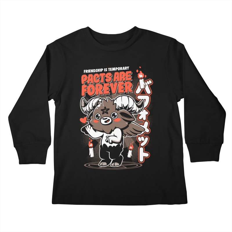 Pacts Are Forever - Black Kids Longsleeve T-Shirt by ilustrata