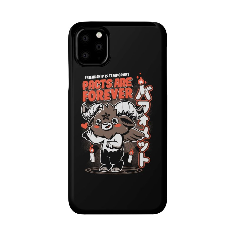 Pacts Are Forever - Black Accessories Phone Case by ilustrata