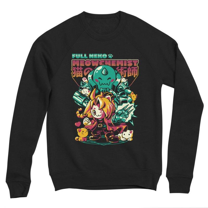 Full Neko Meowchemist Women's Sponge Fleece Sweatshirt by ilustrata