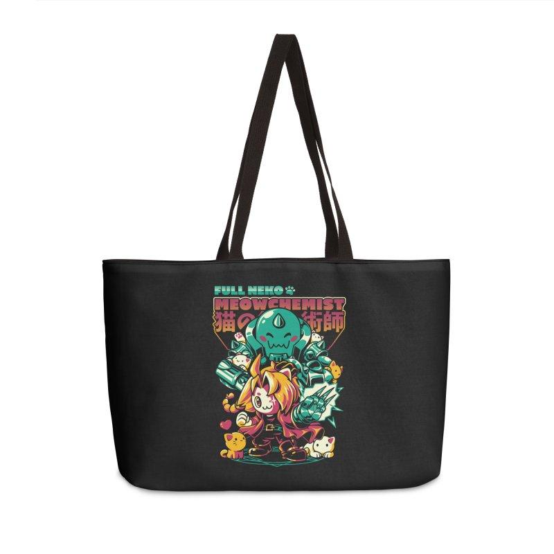 Full Neko Meowchemist Accessories Weekender Bag Bag by ilustrata