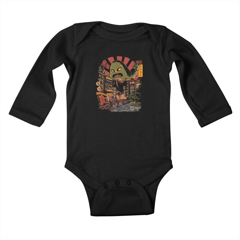 Avokiller Kids Baby Longsleeve Bodysuit by ilustrata