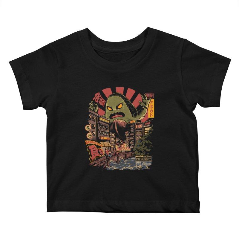 Avokiller Kids Baby T-Shirt by ilustrata