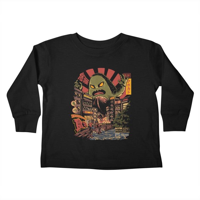 Avokiller Kids Toddler Longsleeve T-Shirt by ilustrata
