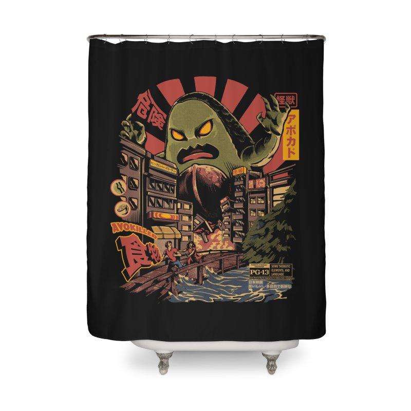 Avokiller Home Shower Curtain by ilustrata