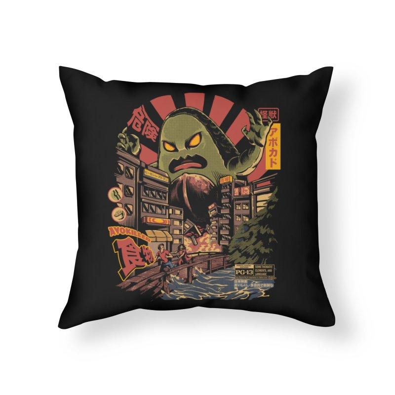 Avokiller Home Throw Pillow by ilustrata