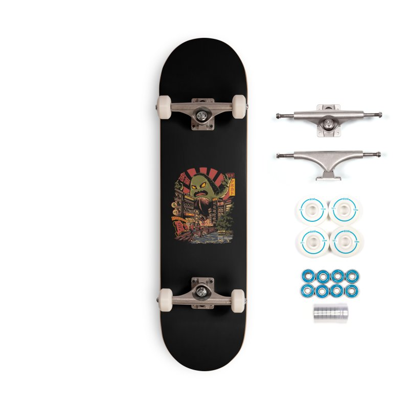 Avokiller Accessories Complete - Basic Skateboard by ilustrata