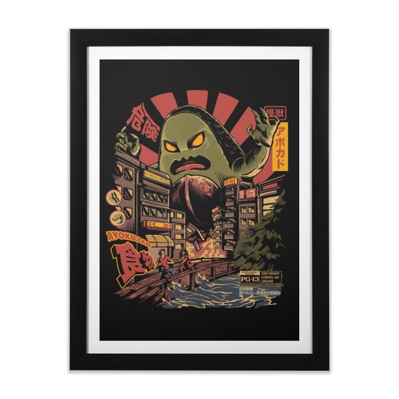 Avokiller Home Framed Fine Art Print by ilustrata