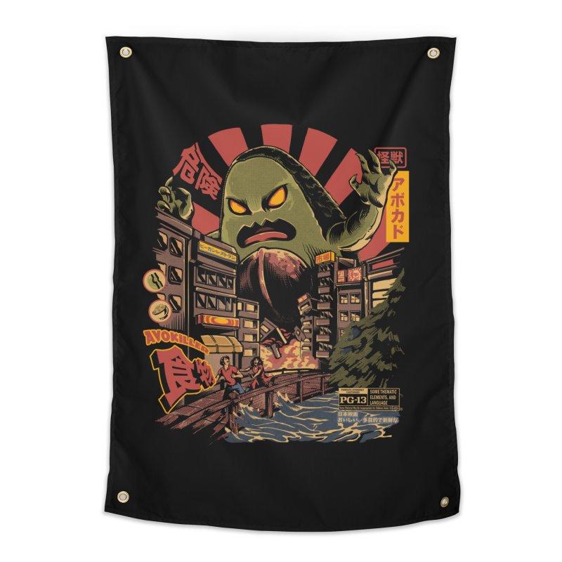 Avokiller Home Tapestry by ilustrata