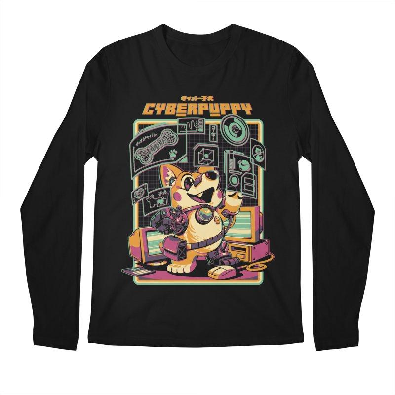 Cyberpuppy Men's Regular Longsleeve T-Shirt by ilustrata