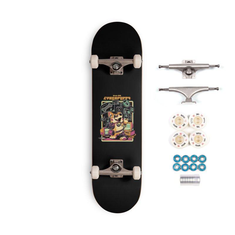Cyberpuppy Accessories Complete - Premium Skateboard by ilustrata