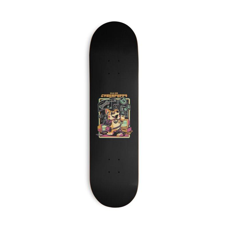 Cyberpuppy Accessories Deck Only Skateboard by ilustrata