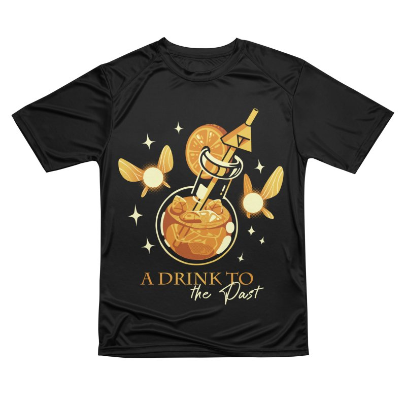 A Drink to the Past Women's Performance Unisex T-Shirt by ilustrata