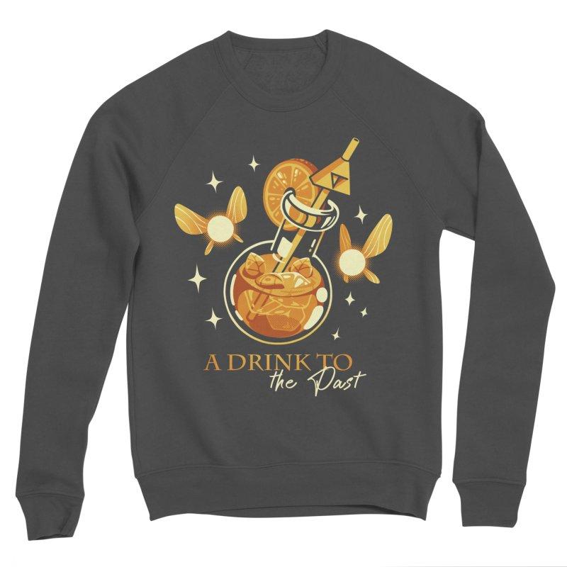 A Drink to the Past Men's Sponge Fleece Sweatshirt by ilustrata