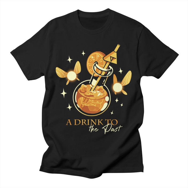 A Drink to the Past Women's Regular Unisex T-Shirt by ilustrata