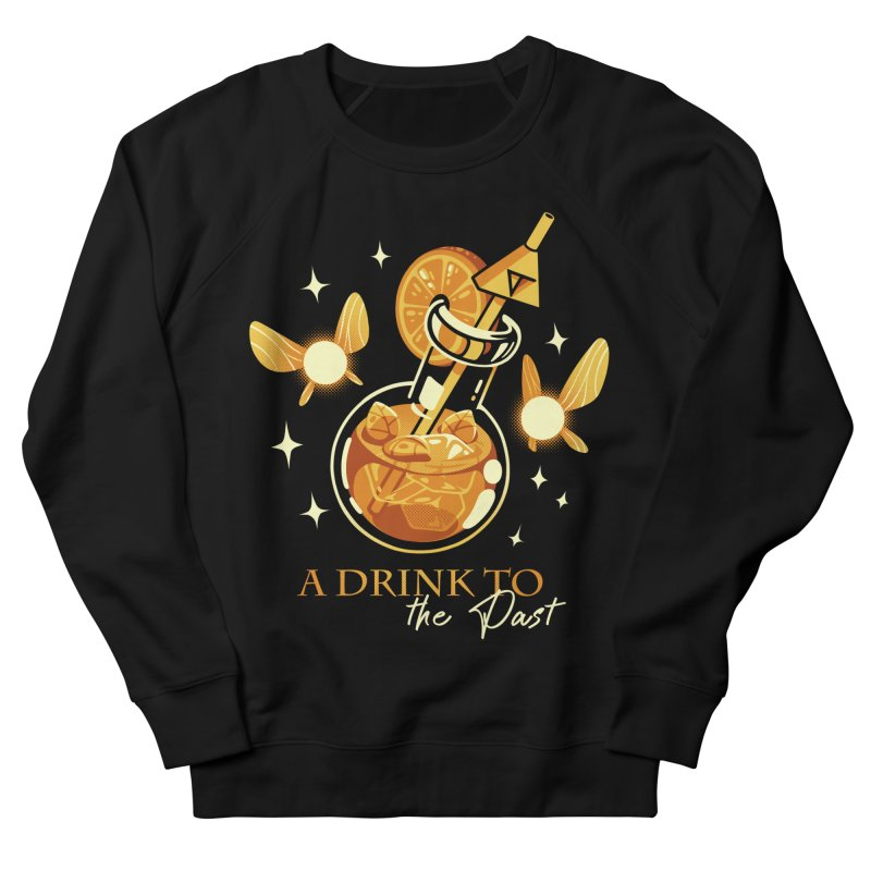 A Drink to the Past Men's Sweatshirt by ilustrata