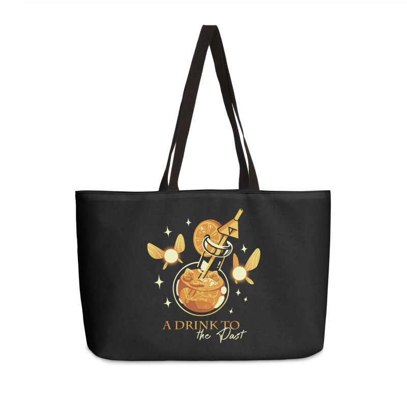 A Drink to the Past Accessories Weekender Bag Bag by ilustrata