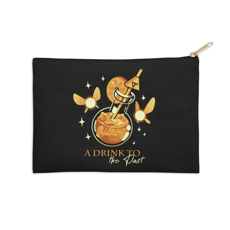 A Drink to the Past Accessories Zip Pouch by ilustrata