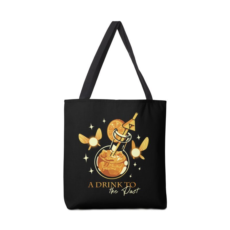 A Drink to the Past Accessories Tote Bag Bag by ilustrata