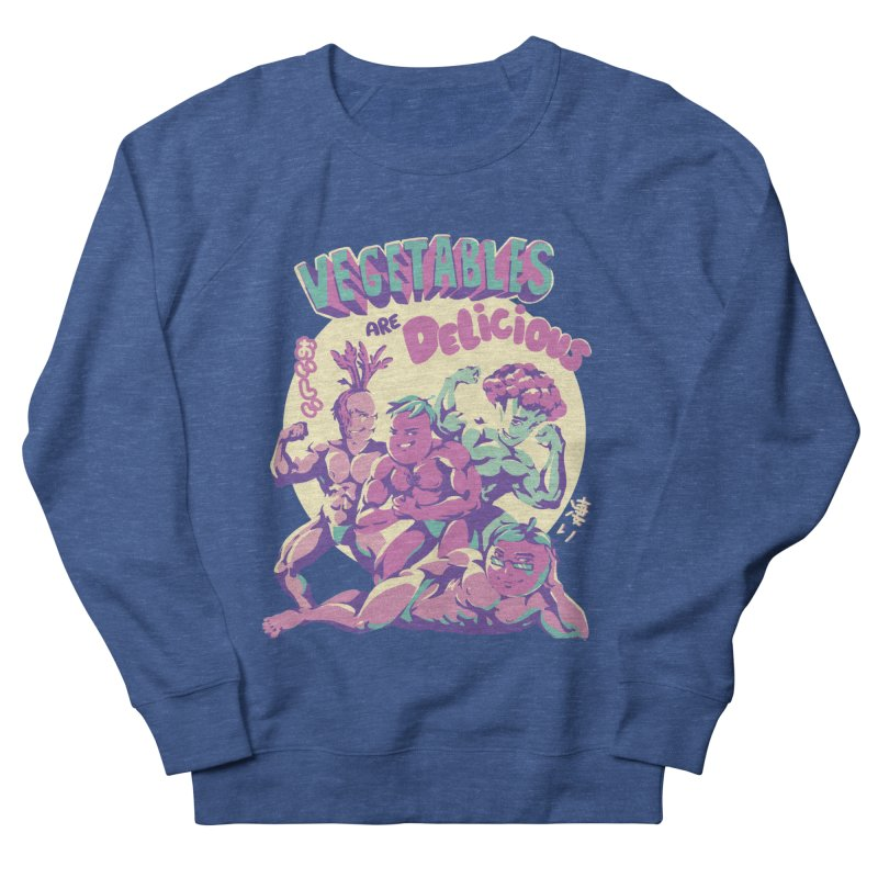 Vegetables are Delicious Women's French Terry Sweatshirt by ilustrata