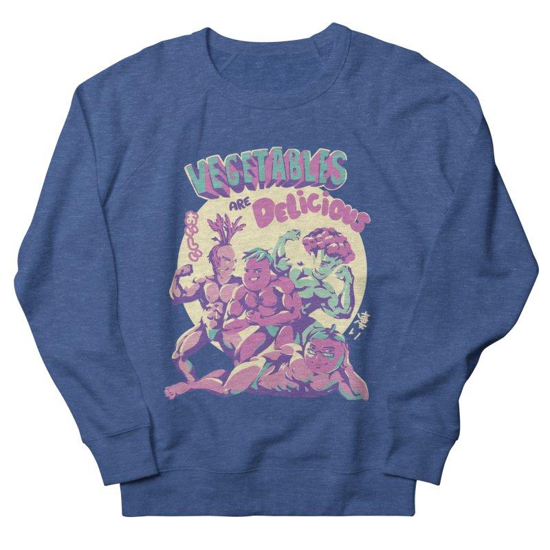 Vegetables are Delicious Men's Sweatshirt by ilustrata