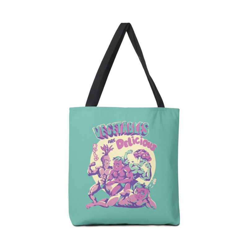 Vegetables are Delicious Accessories Tote Bag Bag by ilustrata