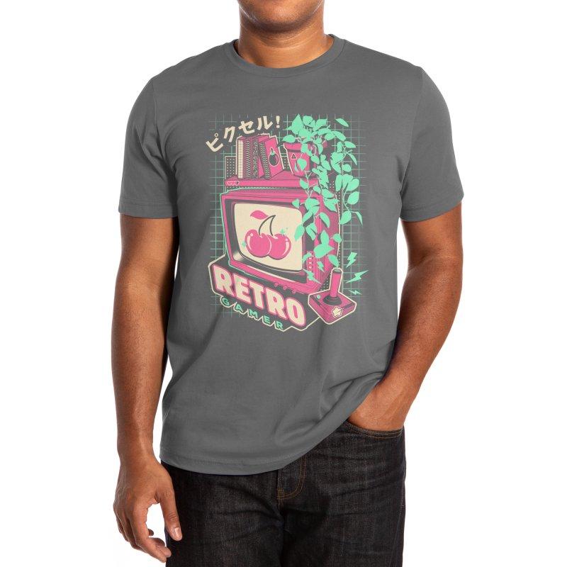 Retro Gamer Men's T-Shirt by ilustrata