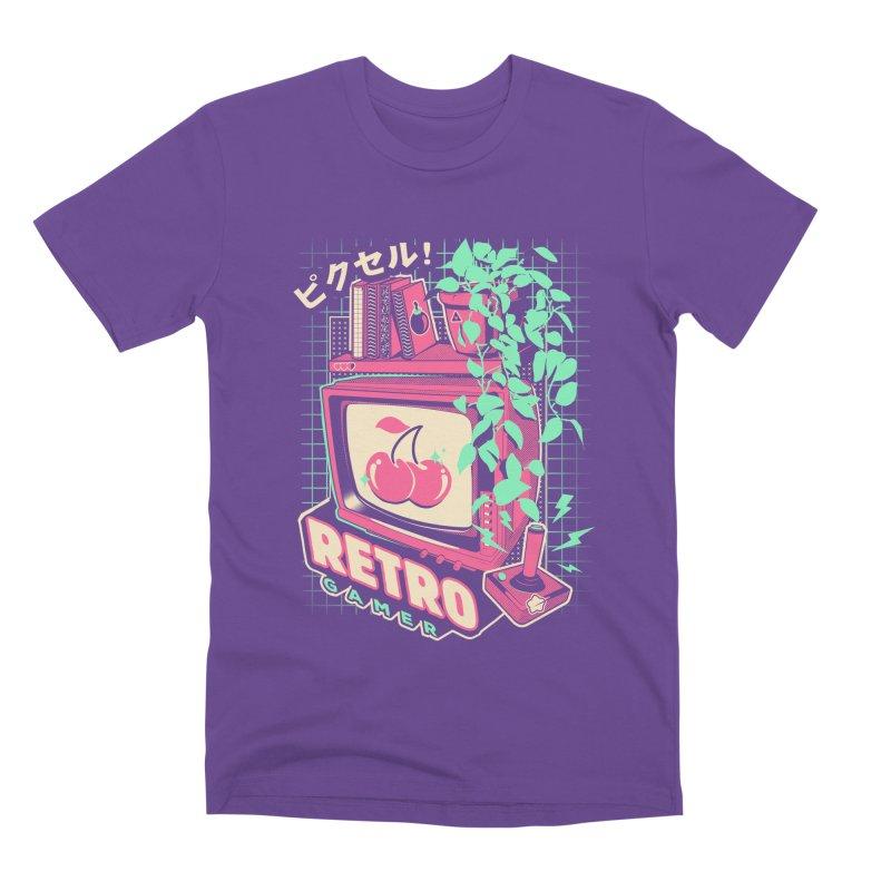 Retro Gamer Men's Premium T-Shirt by ilustrata