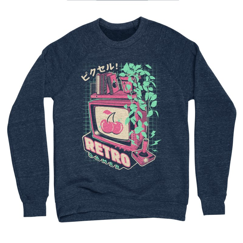 Retro Gamer Men's Sponge Fleece Sweatshirt by ilustrata