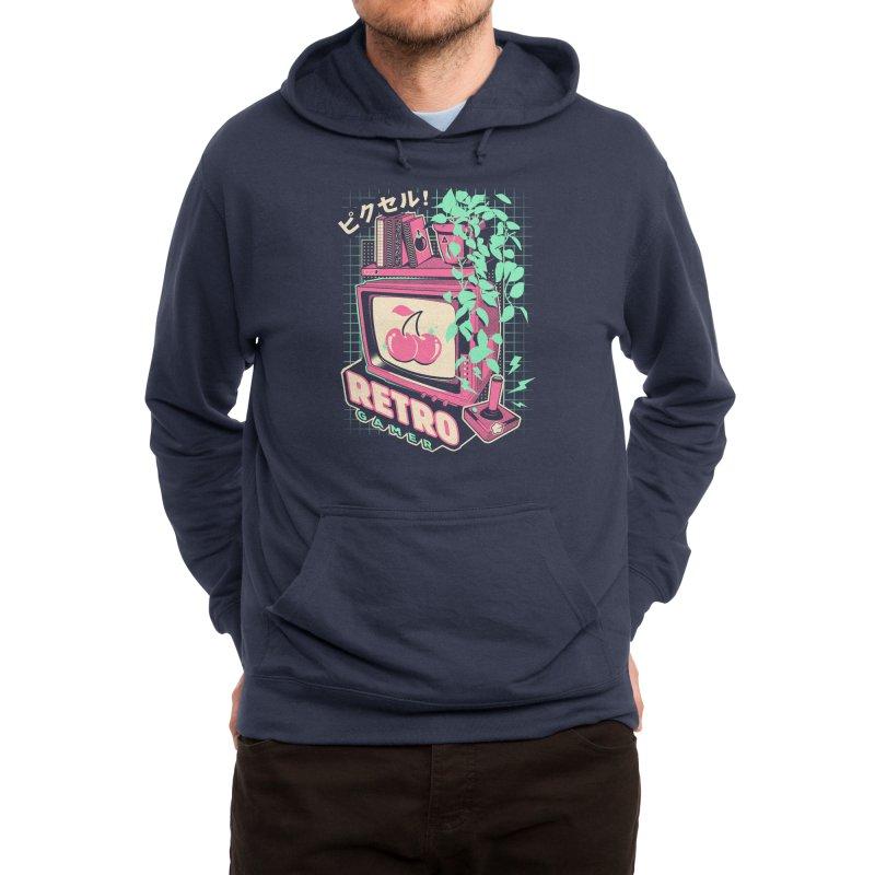 Retro Gamer Men's Pullover Hoody by ilustrata