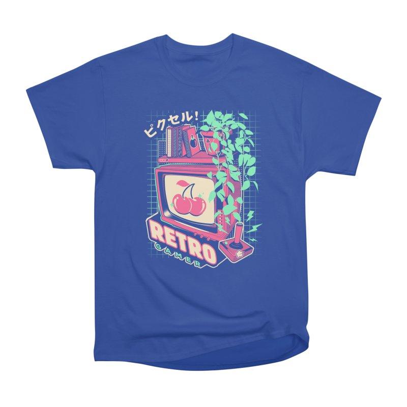 Retro Gamer Men's Heavyweight T-Shirt by ilustrata