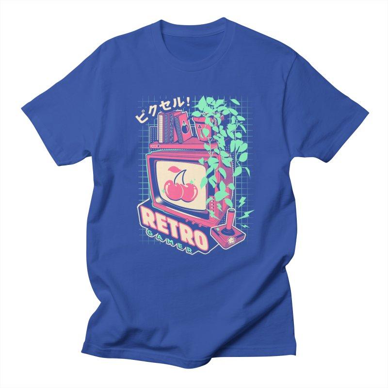 Retro Gamer Men's Regular T-Shirt by ilustrata