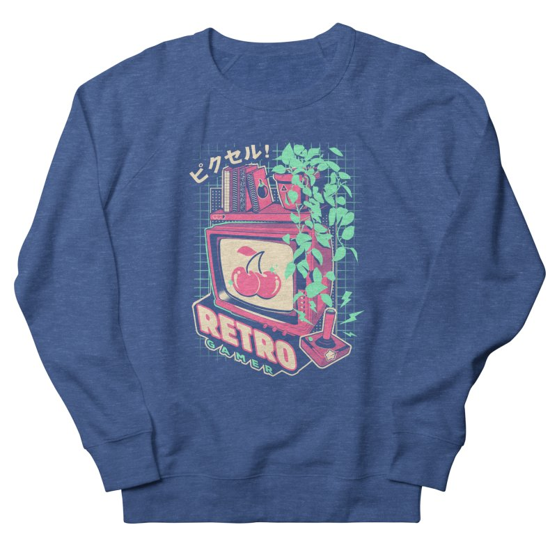 Retro Gamer Men's Sweatshirt by ilustrata