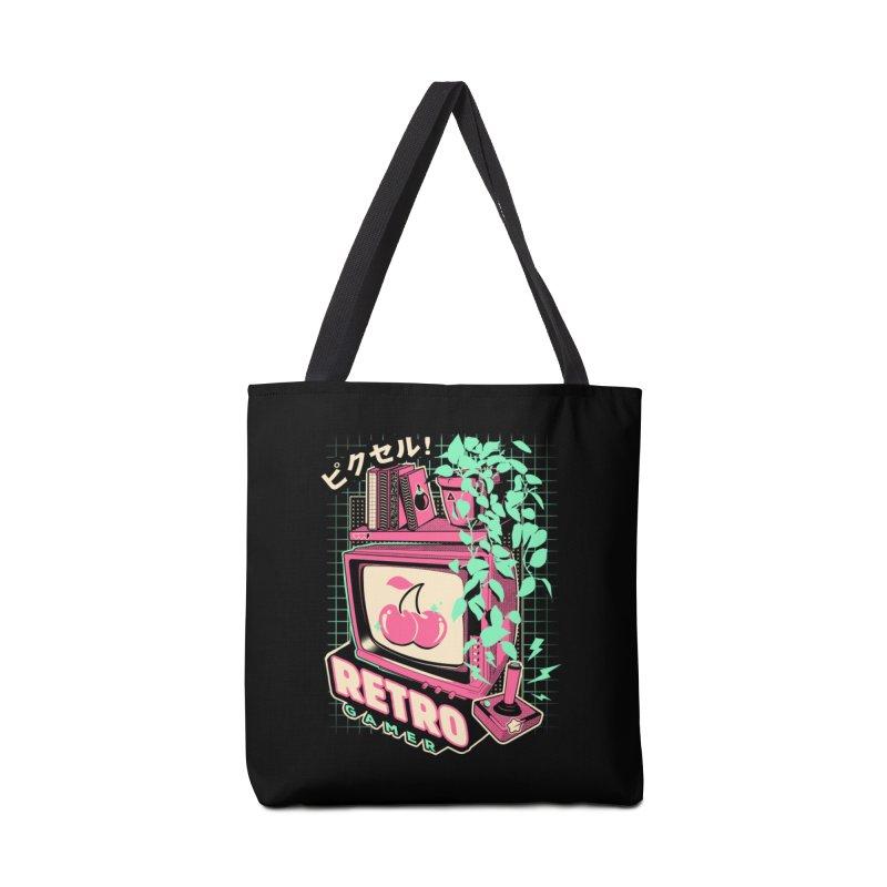 Retro Gamer Accessories Tote Bag Bag by ilustrata