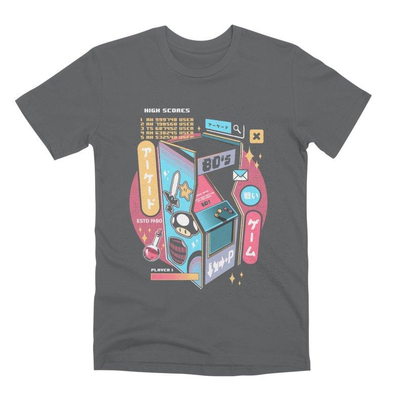 Nostalgic Men's Premium T-Shirt by ilustrata