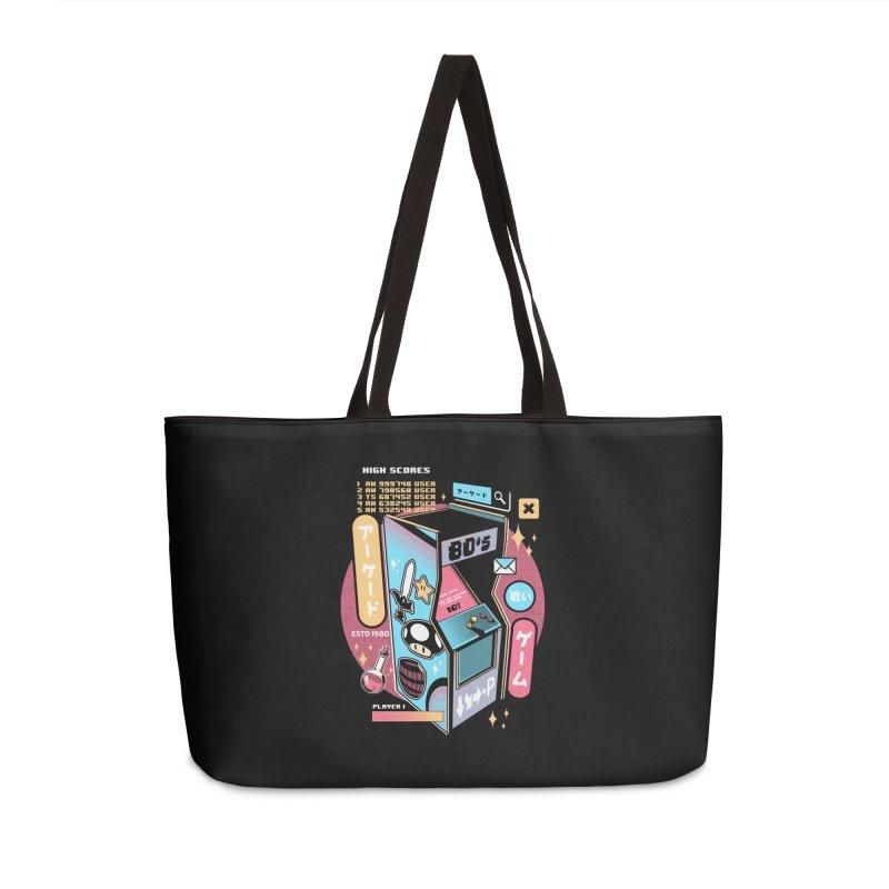 Nostalgic Accessories Weekender Bag Bag by ilustrata
