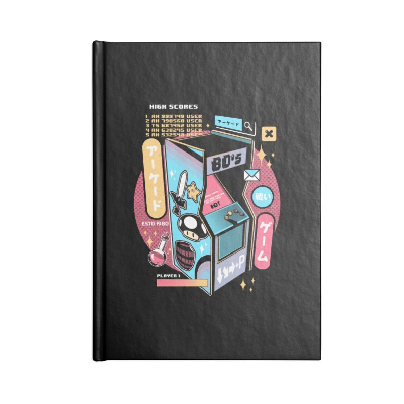 Nostalgic Accessories Lined Journal Notebook by ilustrata