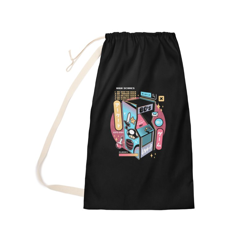 Nostalgic Accessories Laundry Bag Bag by ilustrata