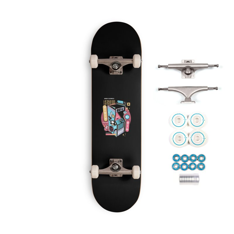 Nostalgic Accessories Complete - Basic Skateboard by ilustrata
