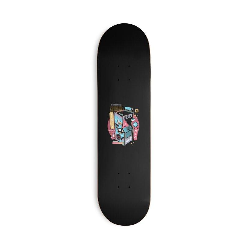 Nostalgic Accessories Deck Only Skateboard by ilustrata
