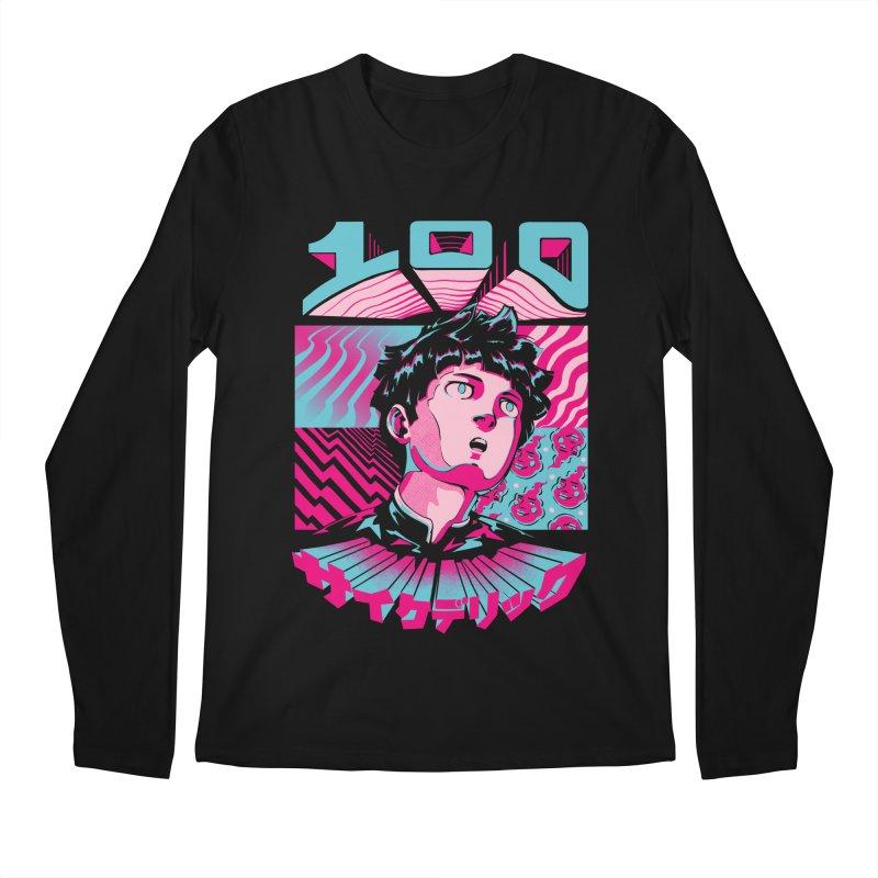 Psycho head 100 Men's Regular Longsleeve T-Shirt by ilustrata