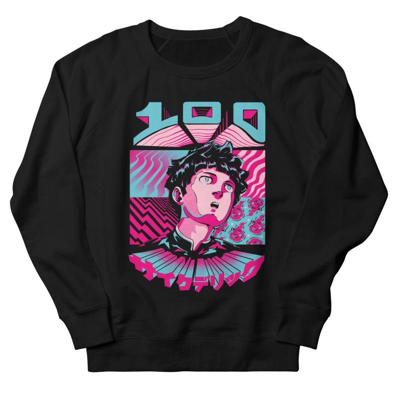 Psycho head 100 Women's French Terry Sweatshirt by ilustrata