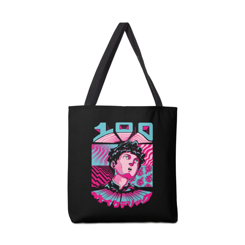 Psycho head 100 Accessories Tote Bag Bag by ilustrata