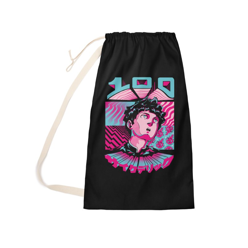 Psycho head 100 Accessories Laundry Bag Bag by ilustrata