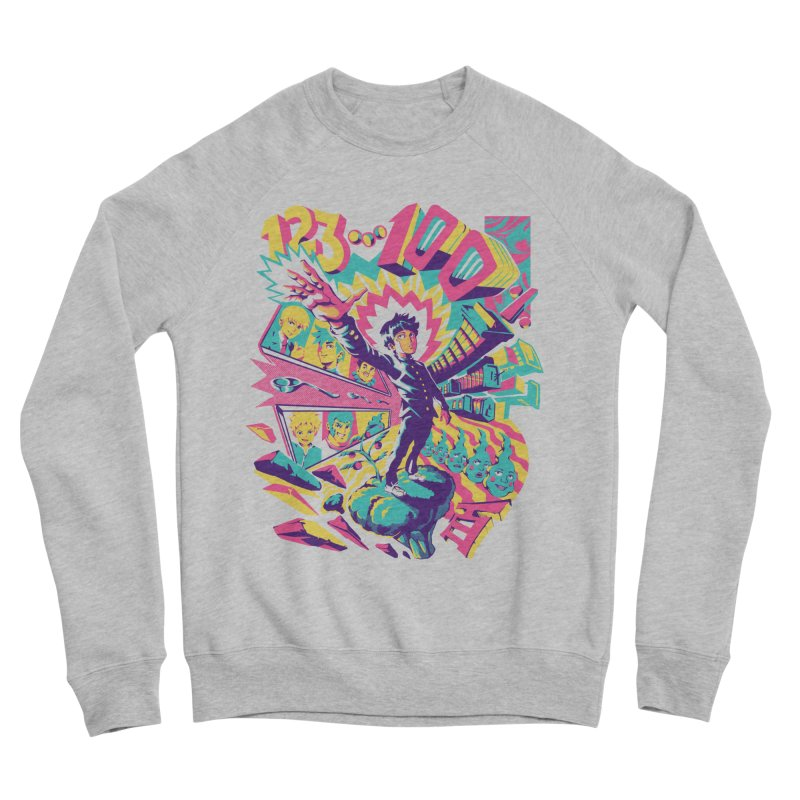 Psychedelic 100 Men's Sponge Fleece Sweatshirt by ilustrata
