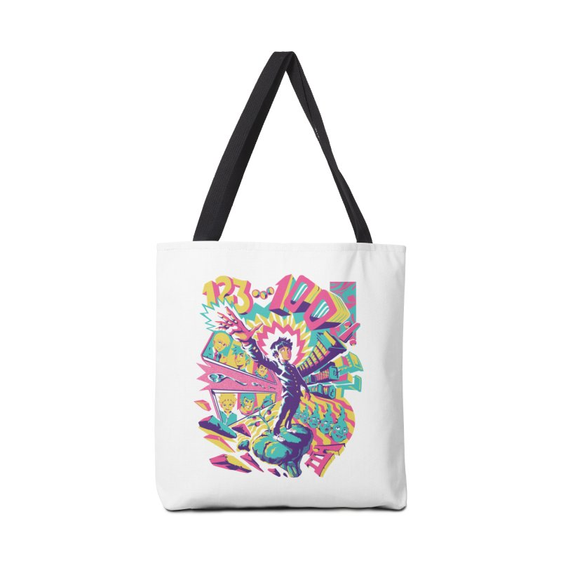 Psychedelic 100 Accessories Tote Bag Bag by ilustrata