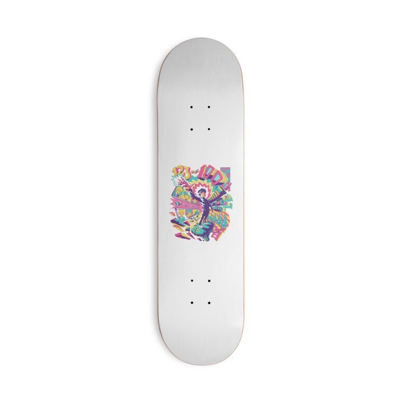Psychedelic 100 Accessories Deck Only Skateboard by ilustrata