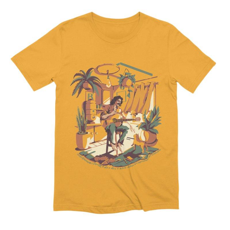 Rapaz latino Americano Men's Extra Soft T-Shirt by ilustrata